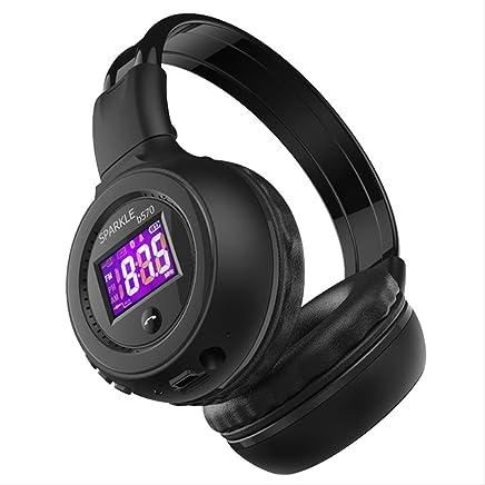 PMWLKJ B570 HiFi Stereo Bluetooth Cuffia Wireless Cuffia con Microfono FM Radio Micro SD Card Play Nero - Trova i prezzi più bassi