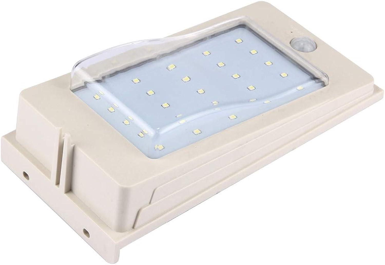3 Watt 25 LEDs SMD2835 270 LM 6500K Weilicht Bewegungssensor Solar Licht Wandleuchte Auenleuchte Mit Sonnenkollektor, DC 12 V LED Flutlicht
