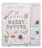 Calendario de pared Harry Potter - Planificador mensual - Planificador Grupo Erik │Calendario agenda de pared 16 meses -...