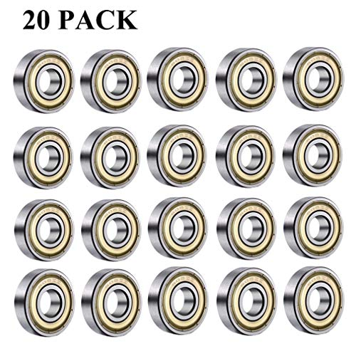 2.5mm DeFFeng 5pcs Flat Thrust Ball Bearing ID 2.5//3//4//6//7//8mm Mini Miniature Bearings F25-6 F3-8 F4-10