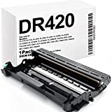 XZMHX Compatible Drum Unit Replacement for Brother DR420 DR-420 for HL-2280DW HL-2250DN HL-2230 HL-2240 HL-2242D HL-2270DW MFC-7360N MFC-7860DW DCP-7060D DCP-7065DN Intellifax 2840 2940 (1 Pack)