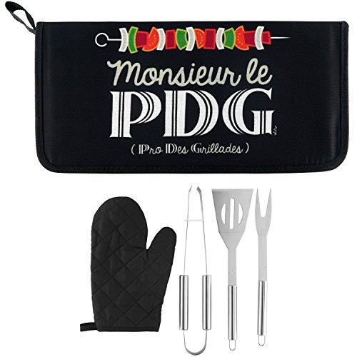 Kit d'accessoires BARBECUE Mr le Pdg - Derrière la porte
