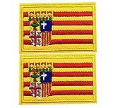 PARCHE bandera aragon BORDADO PARA PLANCHAR O COSER