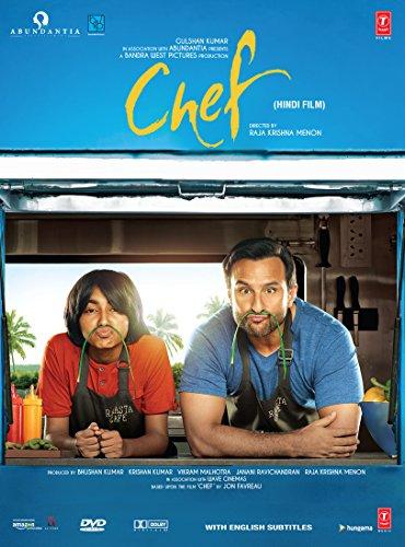 CHEF Film ~ DVD ~ Bollywood ~ Saif Ali Khan ~ Hindi mit englischem Untertitel ~ India ~ 2017 ~ Original T-SERIES DVD ~ verkauf nur über Bollywood 24/7