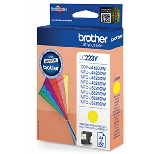 Brother original - Brother MFC-J 4625 DW (LC-223 Y BP) - Tintenpatrone gelb - 550 Seiten - 5,9ml