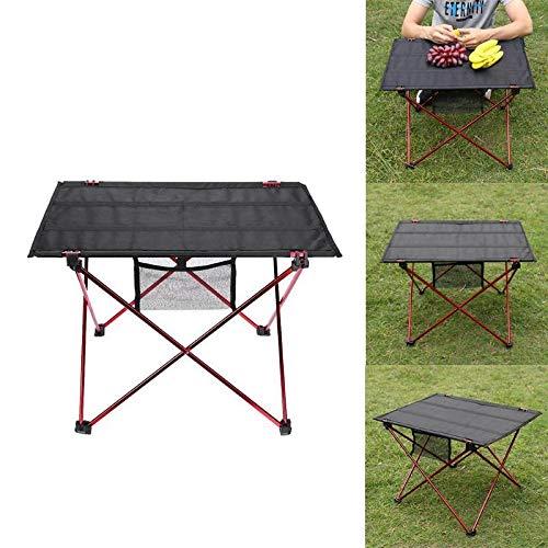 Nai-Style Ultralight Tragbare Klapptisch Camping Picknick-Tisch Grill Angelstühle Klapp Schreibtisch für Outdoor Angeln Camping Garten