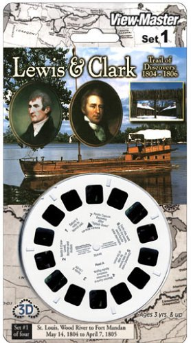 View-Master 3D 3-Reel Card Lewis & Clark Set #1 by View Master