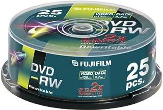 Fuji 25x DVD-RW 4,7GB 120min 2X CB