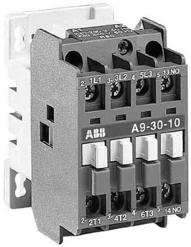 ABB Stotz S&J, 230V, 50/60 Hz, 1S 220-230VAC/DC, contattore di potenza per la commutazione di corrente alternata