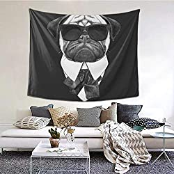 Funny Dog Wall Tapestry
