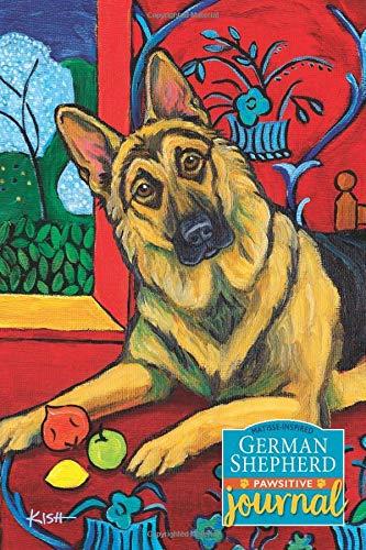 German Shepherd Pawsitive Journal (Matisse-Inspired): Lined Gratitude Journal for Dog Lovers