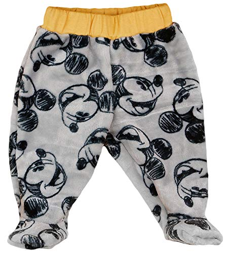Kleines Kleid Baby Fleece Hose Junge Mickey Mouse in Größe 56 62 68 (Modell 1, 56)