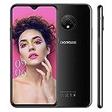 Moviles Libres DOOGEE X95(2020) Android 10 Smartphone Libre, Pantalla 6,52 Pulgadas, 4350mAh Batería, Triple Cámara 13MP+5MP,16GB +2GB, Doble SIM 4G, Face ID, Negro