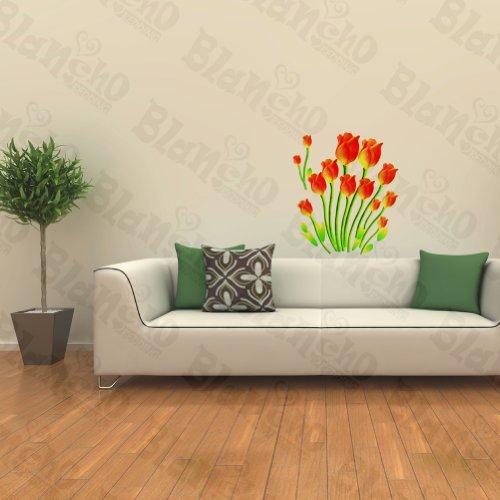 Jeu de Patchs à Tulipes – Stickers muraux Stickers Décoration intérieure