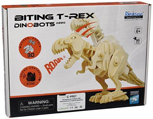 Robo Time D220 Puzzle 3D Dinosaures Multicolore 90 pièces
