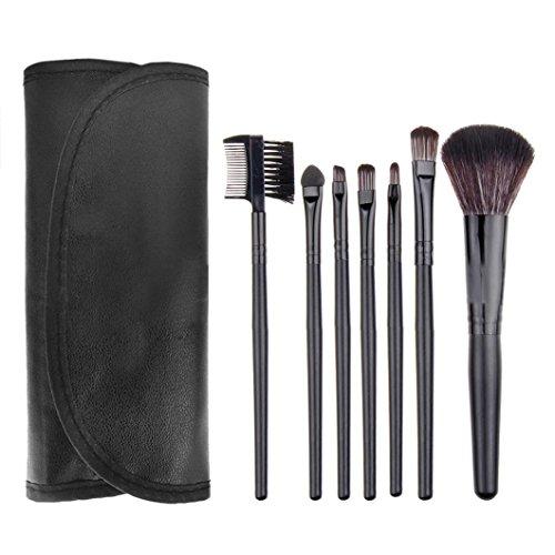 Ouneed® Lot 8pcs Pinceau Brosse Maquillage (Noir)