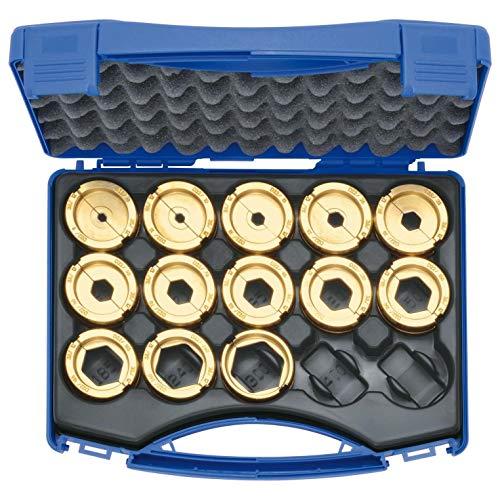 Klauke Presseinsatz-Set D22SET K22 Einsatz für Presswerkzeug Kabelschuhe/Verbinder, Aderendhülsen, Schirmanschluss 4012078594462