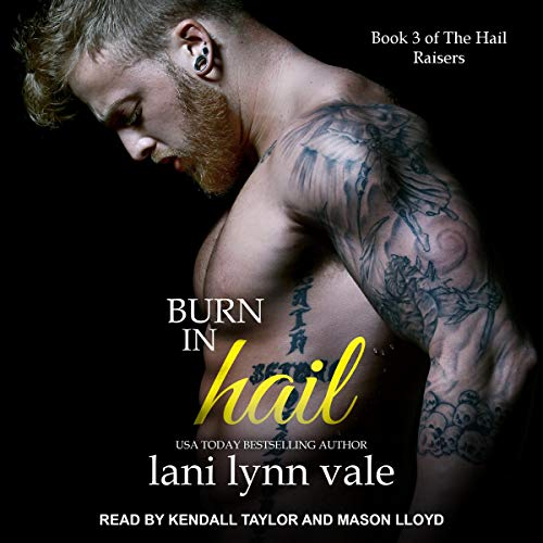 Burn in Hail audiobook cover art