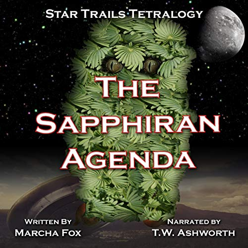 The Sapphiran Agenda (Star Trails Tetralogy) audiobook cover art