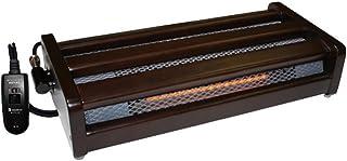 メトロ 木枠 フットヒーター 1灯式 手元電子コントローラー式 5時間切タイマー付き MFH181ET