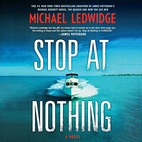 Stop at Nothing audiobook cover art