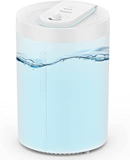 KOIOS 4L Humidifiers for Bedroom Large Room Home, Top Fill Cool Mist Air Humidifier & Essential Oil Diffuser, Patented Des...