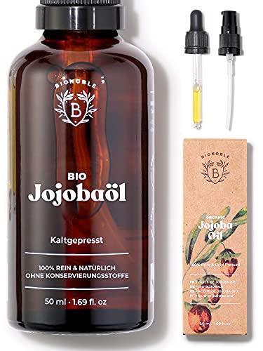 Bio-Jojobaöl - rein, natürlich, kaltgepresst