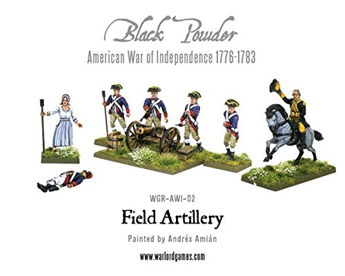 Warlord Games WL302013401 Field Artillery And Army Commanders, 2 Cannoni, 8 Miniature, 28 mm