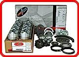 Engine Rebuild Overhaul Kit FITS: 1967-1985 Chevrolet SBC GM 350 5.7L OHV V8 w/Flat-Top Pistons