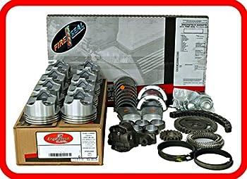 Engine Rebuild Overhaul Kit FITS  1986-1992 Chevrolet SBC GM 350 5.7L V8 w/Flat-Top Pistons