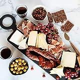 igourmet Spanish Fiesta Classic Gift Basket - Includes a gourmet cheese assortment, ham, Spanish Chorizo, Spanish olives, and gourmet chocolates
