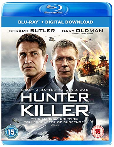 Hunter Killer [Blu-ray] [2018]