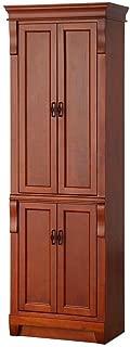 Foremost NACL2474 Naples 24-Inch Linen Cabinet, Warm Cinnamon