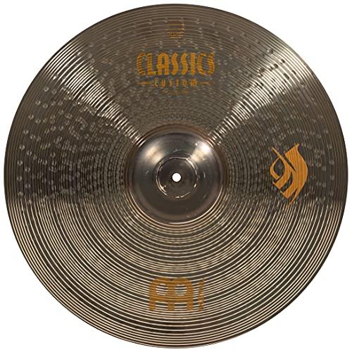 Meinl Classics Custom Brilliant 21 Zoll (53,34cm) Ghost Ride Brann Dailor Signature Becken für Schlagzeug – B10 Bronze, brilliantes Finish (CC21GR)