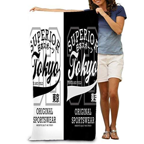 Toalla de Playa Athletic Tokyo Stylehirt Graphic Athletic Tokyo Stylehirt Graphic Typography Diseño Imagen