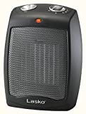 Lasko CD09250 Ceramic Portable Space Heater with Adjustable Thermostat - Perfect For the