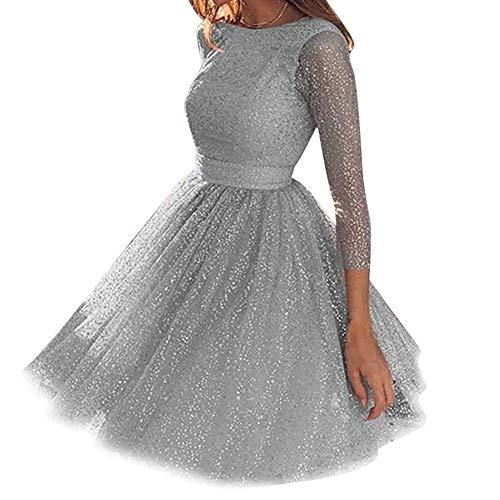 Yippel Vrouwen Glitter Cocktail Lange Jurk Formele Gala Avond Party Bruiloft Bal Jurk Pailletten