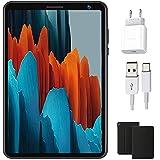Tablet Android 10 Quad-Core 1.6GHz 1280 x 800 IPS Pantalla HD, 3GB RAM y 32 GB ROM | 128GB Escalable, Tableta GPS Bluetooth/OTG Tablets de 8 Pulgadas (Negro)