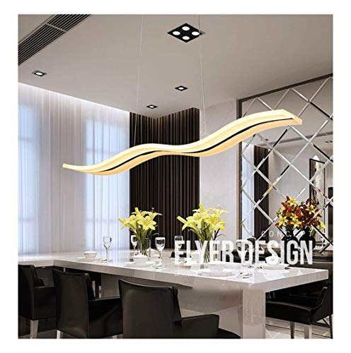 Kroonluchters Eettafel Eetkamer Studie Gebogen Plafondlamp, Postmodern Ontwerp Eenvoudige Mode Hanglamp