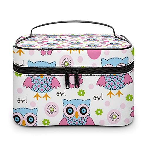 Bonita bolsa de aseo impermeable, bolsa de viaje con cremallera, organizador de maquillaje, bolsa de maquillaje para aparador, baño, hombres y mujeres, Blanco-estilo-3, 25x18x15cm,