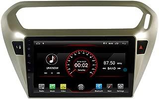 Autosion Android 9.1 Car DVD Player Sat Nav Radio Headunit Navigation Stereo for Peugeot 301 2013 2014 2015 2016 2017 2018 Citroen C-Elysee Steering Wheel Control Black