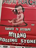 Papa Roach Milano Alcatraz 19/10 Poster