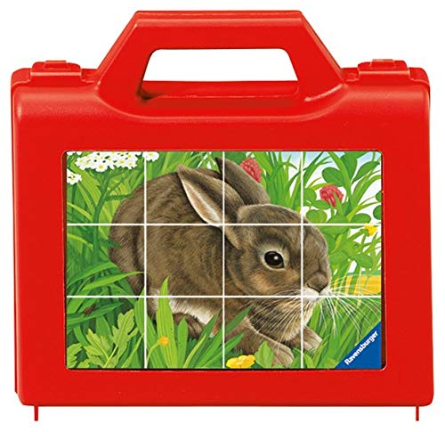 Ravensburger Kinderpuzzle 07412 - Tiere - 12 Teile Würfelpuzzles