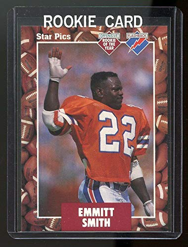 1991 Star Pics Top Prospects #20 Emmitt Smith Florida State Rookie Card - Mint Condition Ships in a Brand New Holder