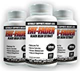 Black Bean Extract by Fat-fader - powerful Weight Loss Formula - 3 Bottle Pack