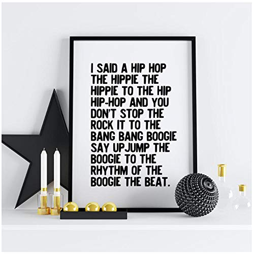 caomei Rappers Delight Poster Canvas Painting Wall Art Pictures for Living Room Modern Home Decorative Prints 50x70cm No Frame