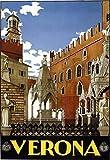 Kribee Poster, Vintage, 1930er, italienisches Verona,