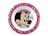 Lulabi Disney Minnie, Piatto Fondo, Melamina, 21 cm, Rosa, 6+ mesi