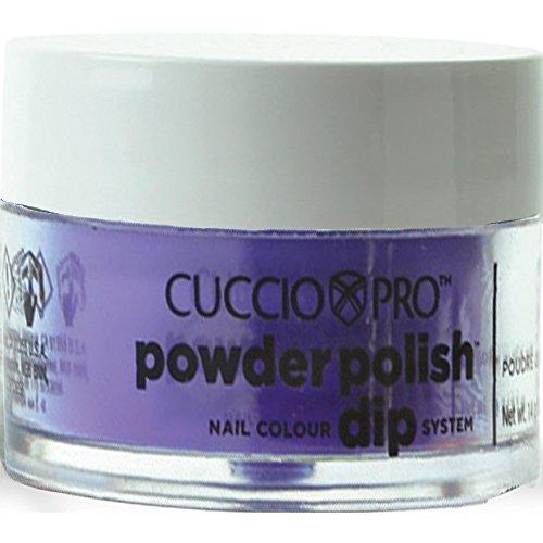 Cuccio Neon Violet Nail Color Dip System Duiken poeder