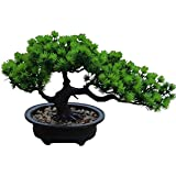 Aisamco Artificial Bonsai Tree Fake Plant Decoration Plantas Artificiales en macetas de la casa...